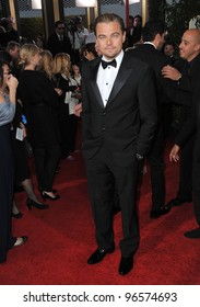 Leonardo Dicaprio at the 69th Golden Globe Awards at the Beverly Hilton Hotel. January 15, 2012  Beverly Hills, CA Picture: Paul Smith / Featureflash
