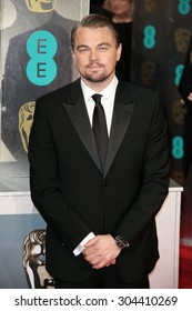 Leonardo DiCaprio attends the EE British Academy Film Awards 2014 at The Royal Opera House on February 16, 2014 in London, England.