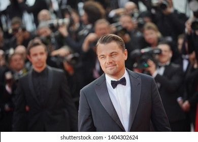 """Leonardo DiCaprio attends the screening of """"Once Upon A Time In Hollywood"""" during the 72nd annual Cannes Film Festival on May 21, 2019 in Cannes, France."""
