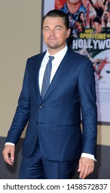 Leonardo DiCaprio at the Los Angeles premiere of 'Once Upon a Time In Hollywood' held at the TCL Chinese Theatre IMAX in Hollywood, USA on July 22, 2019.