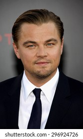 Leonardo DiCaprio at the Los Angeles premiere of 'Inception' held at the Grauman's Chinese Theatre in Hollywood on July 13, 2010.