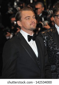 """Leonardo DiCaprio at the premiere of his movie """"The Great Gatsby"""" the opening movie of the 66th Festival de Cannes. May 15, 2013  Cannes, France"""