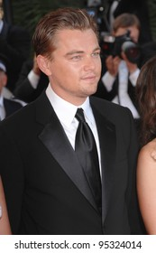 """Leonardo DiCaprio at screening for """"No Country for Old Men"""" at the 60th Annual International Film Festival de Cannes.  May 19, 2007  Cannes, France.  2007 Paul Smith / Featureflash"""