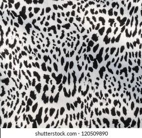 Leopard fabric textile