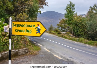 Leprechaun crossing, Ireland
