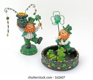 Leprechaun Figures Isolated