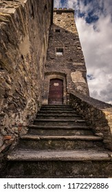 Leprous Tower in Aosta (Aosta Valley)