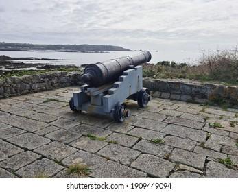 L'Eree Gun Battery, Guernsey Channel Islands