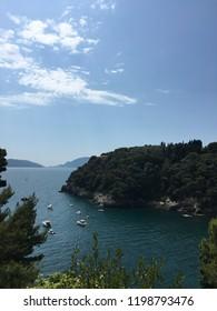 Lerici beach, Italy