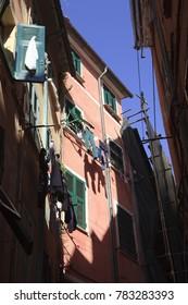 Lerici, gulf of Poets, Cinque Terre, La Spezia, Liguria, Italy