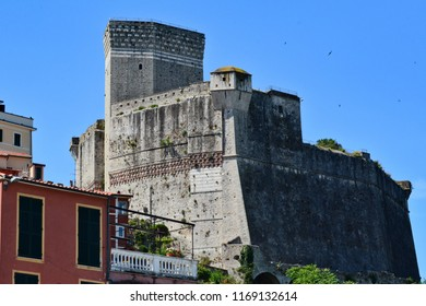 Lerici, La Spezia, Liguria / Italy - June 15 2018: Castle of Lerici.