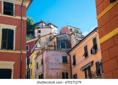 Lerici a typical italian town