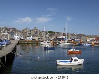 Lerwick Harbor, Shetland