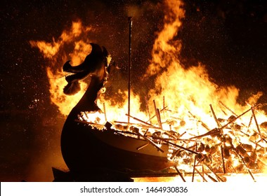 Lerwick/ Scotland-01/11/2019 photo from Up Helly Aa festivals in Scotland