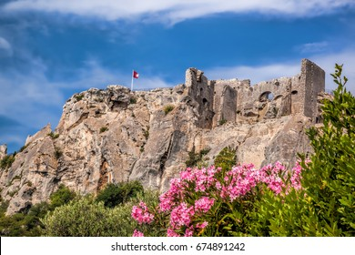 Les Baux-de-Provence, castle in Provence, France