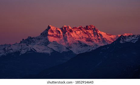 Les Dents du Midi Switzerland - Shutterstock ID 1852914643