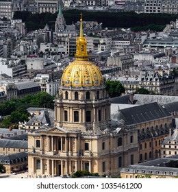 Les Invalides (National Residence of the Invalids) of Paris, the capital of France