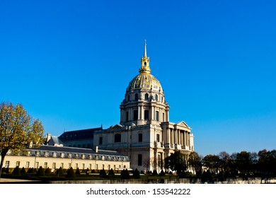 "Les Invalides in Paris France ""Napoleon Bonaparte's burial site"""