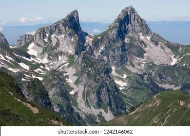 Les Jumelles mountain (Switzerland)