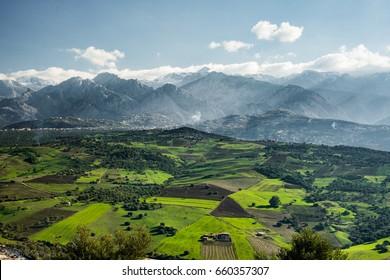 Les massif de Djurdjura, Djurdjura mountaine