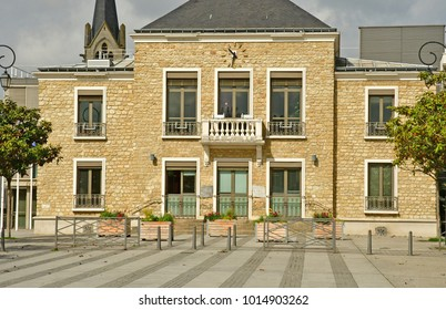 Les Mureaux, France - may 13 2017 : the city hall