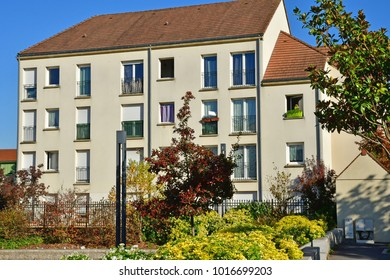 Les Mureaux; France - october 14 2017 : the multimedia library district