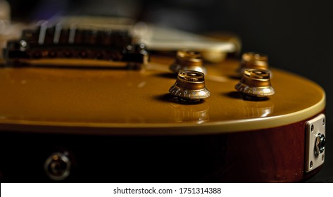 Les Paul Volume and Tone knobs
