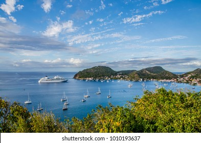 Les Saintes from Guadeloupe island one of the Most Beautiful Bays of the World
