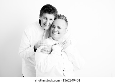 lesbian couple in love - gay pride LGBT