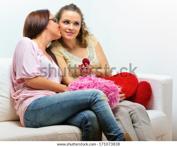 Two Young Girls Having Sex