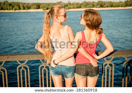 Charming question brunette blonde lesbian lesbiche consider