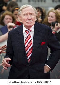 Leslie Philips arriving for the World Premiere of 'Harry Potter & the Deathly Hallows pt2', Trafalgar Square, London. 07/07/2011  Picture by: James McCauley / Featureflash