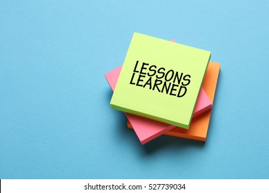 Lessons Learned, Education Concept