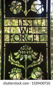 Lest we Forget sign in Borneo