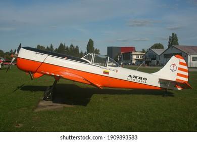 Leszno, Poland - 14.09.2019 - Glider Picnic 2019, Yakovlev Yak-50, LY-ANP, ANBO aerobatic team