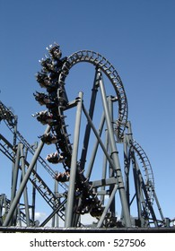 Lethal Weapon Roller Coaster Surfers Paradise,  Australia