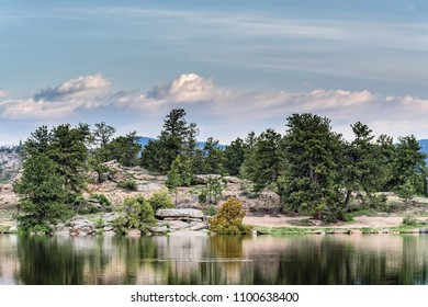 Letitia Lake - Colorado Rocky Mountain Scenic Beauty