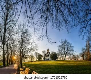 Letna Park early morning, Prague, Czech republic, Europe. - Shutterstock ID 1701523780