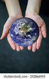 Let's save our planet earth. Elements of this image are furnished by NASA