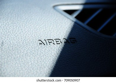 The letter, Airbag on dashboard
