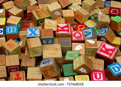 Letter Cubes, Alphabet