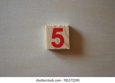 letter of five digit