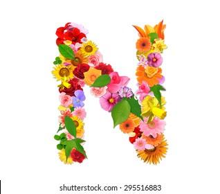 Letter of the flower