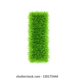 letter of grass alphabet