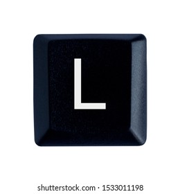 The letter L on the English keyboard.