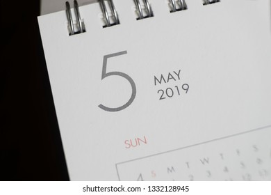 the letter may on the 2019 calendar