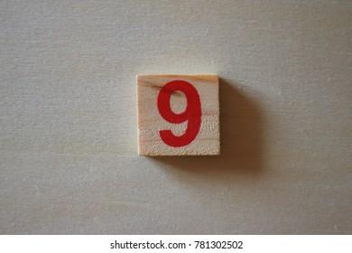 letter of nine digit