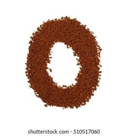 letter O coffee alphabet