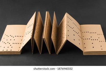 Letter slot cipher book, Cardano lattice