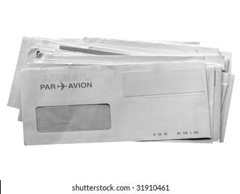 Letter or small packet envelopes